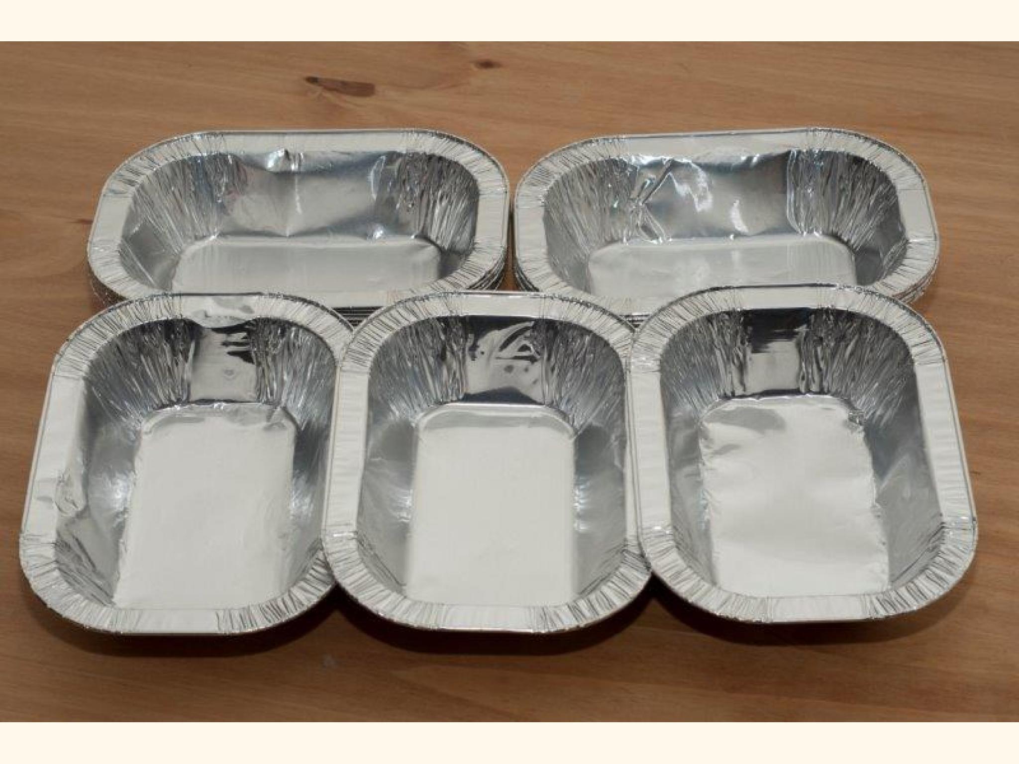 1LB Foil Pie Ashet Dish x 200