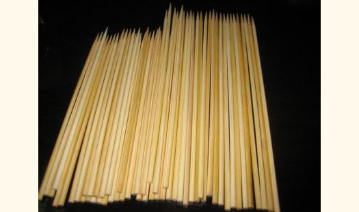 Wooden Skewers - Extra Thick 30cm