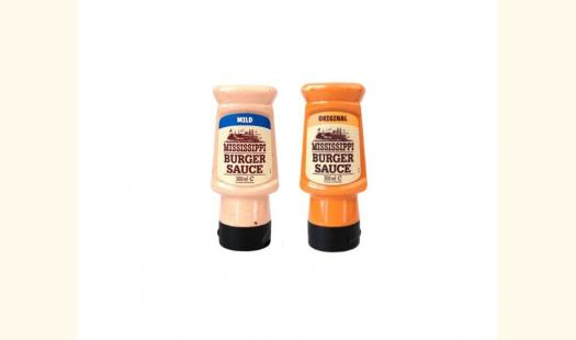 Mississippi Burger Sauce 300ml - Original/Mild (2 Bottles per pack)